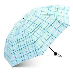移动端:天堂伞格子三折遮阳黑胶UPF50+晴雨两用雨伞*2件 49元(需用券,合24.5元/件)