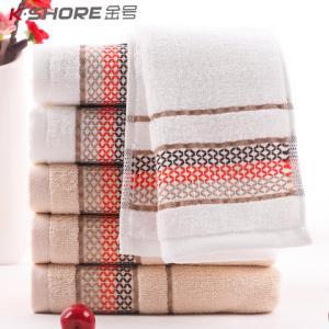 金号纯棉加厚毛巾4条装大克重 22.9元(需用券)