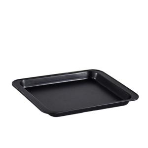 寻乐碳钢烤盘9.4英寸黑色款24*18*1.5cm送10张油纸 2.8元(需用券)