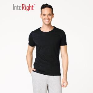 InteRight男式纯色T恤2 14元
