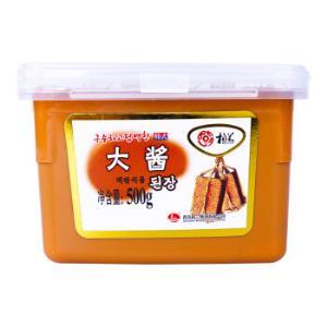 柏兰韩式料理大酱500g*2件 16.9元(合8.45元/件)