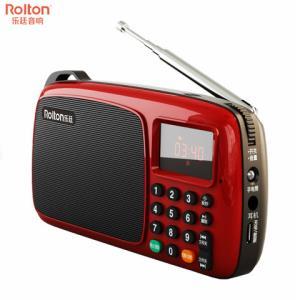 乐廷T301FM调频收音机时尚版2色可选 19.9元(需用券)