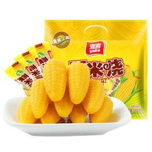 雅客玉米软糖粟米烧(5种规格可选)500g*2件25.6元(合12.8元/件)