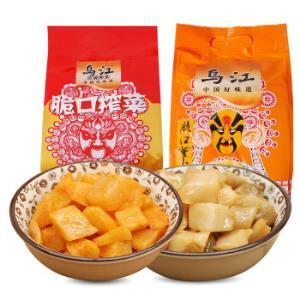 乌江榨菜小脆口2味组合30袋约660g下饭菜咸菜 18.9元(需用券)