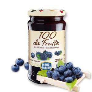 意大利进口曼莎(MENZ&GASSER)蓝莓果酱果肉含量79.9%240g*2件+凑单品    30.5元(合15.25元/件)