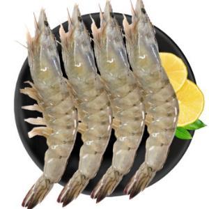 加吉优选厄瓜多尔白虾净重2.8斤约80-98只 69元