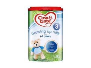 Cow&Gate英国牛栏奶粉3段1-2岁*1罐装【效期2020年9月】 103元包邮