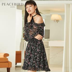 PEACEBIRD太平鸟AWFA82190女士连衣裙 149元
