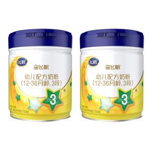 飞鹤星飞帆幼儿配方奶粉3段(12-36个月幼儿适用)700克*2罐*2件 1024.32元(合512.16元/件)