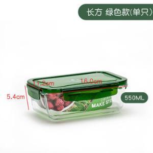 杞记玻璃饭盒11.2*5.4*16cm 12.3元(需用券)