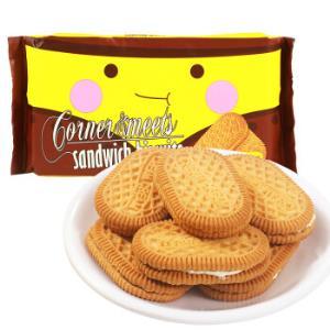 印尼进口卡乐米斯CornerMeets夹心饼干休闲零食柠檬味300g/袋*12件102.8元(合8.57元/件)