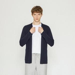 折|MECITY男装纯色v领侧边口袋韩版男士修身羊毛开衫男_496 128.25元