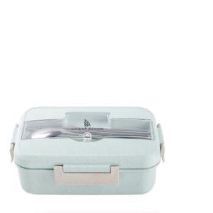 旗丰小麦保温饭盒带盖1L 24.9元