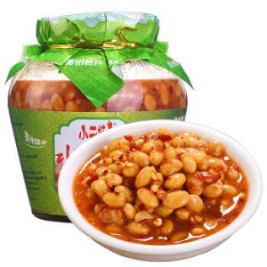 贵州特产老坛水豆豉小二妹自制小吃豆豉辣椒豆瓣酱火锅蘸料调料610g*3瓶39.9元(需用券)