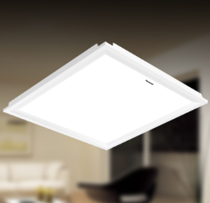 松下厨房灯具led集成吊顶灯300300铝扣板嵌入式面板卫生间吸顶灯 109元