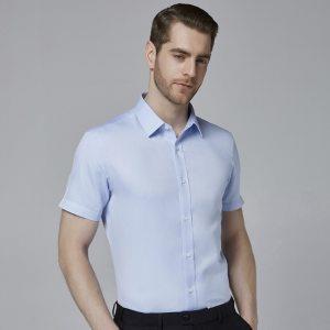 神价格 千元级衬衫工艺 诺贝奥 100支双股长绒棉 4级DP免烫衬衣 包顺丰