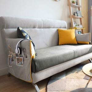 低过618:林氏木业1010多功能可折叠沙发床1.2m1380元包邮