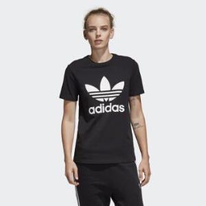 adidasOriginals阿迪達斯三葉草CV9888女款圓領短袖運動T恤*4件150元(需用券,合37.5元/件)