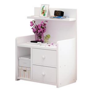 简易床头柜简约现代收纳小柜子储物柜北欧卧室小型床边柜经济型13.9元