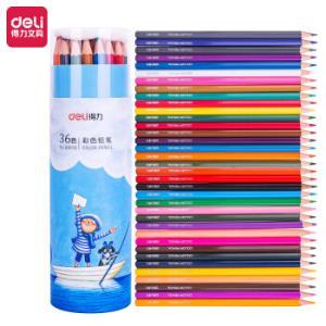 得力(deli)几米-忘记亲一下36色筒装学生六角杆彩色铅笔彩铅套装68109*5件 53.5元(合10.7元/件)