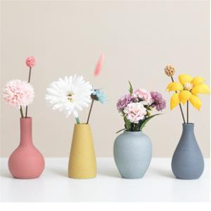 陶瓷小花瓶现代简约插花电视柜摆件  券后¥16.1