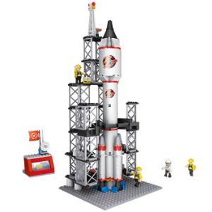 COGO积高积木新城市系列4130航天火箭309片小颗粒*3件 127元(合42.33元/件)