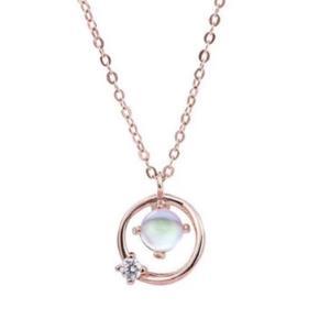 alivinee阿莉维妮S925纯银宇宙星球锁骨链 168元包邮(需用券)