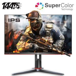AOC显示器新品27英寸144HZ电竞1MS响应显示屏IPS小金刚人体工学支架电脑显示器27G2 1569元