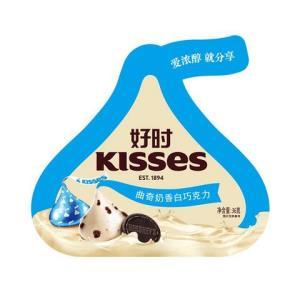 好时 曲奇奶香白巧克力 36g 3.95元(1件5折)