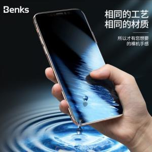 Benks康宁iPhoneX钢化膜Xs苹果X手机iphonexmax全屏覆盖iPhoneXR玻璃xs全包mo贴膜max小时iphones防摔ipx无边