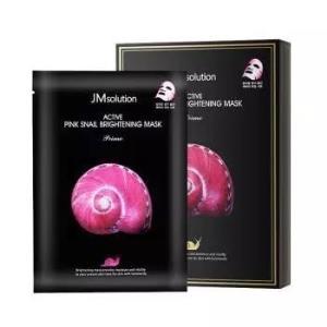 JMsolution粉蜗牛原液提亮面膜10片*3件