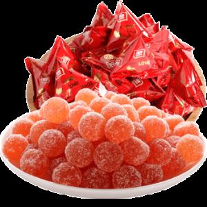 雅客三角包喜庆软糖500g(约30包) 29.9元