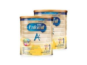 Enfamil安婴儿美国美赞臣婴幼儿奶粉港版A+1段900g2罐装 451.05元包邮(需用码)