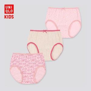 童装/女童短裤(3件装)420916优衣库UNIQLO 59元