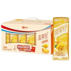 蒙牛 真果粒牛奶饮品(芒果)250ml*12 礼盒装 *2件  49.8元(合24.9元/件)