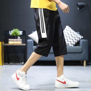 KARALCHI夏季七分裤男韩版潮流运动小脚休闲短裤 29.8元