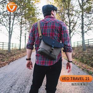 精嘉VEO单肩微单相机包单反摄影包双肩索尼a7佳能m50m100富士xt2060元