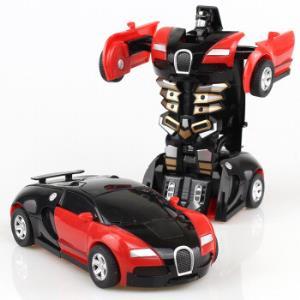 儿童玩具一键变形汽车变形金刚模型玩具车*4件 32.6元(需用券,合8.15元/件)