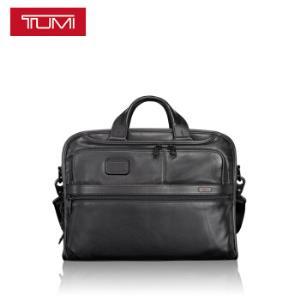 途明TUMIALPHA系列男士商务旅行高端时尚皮革公文包096108D2黑色+凑单品 3017元