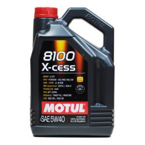 欧洲进口摩特(Motul)全合成润滑油8100X-CESS5W-40ACEAA3/B4SN级5L/桶*2件 466.95元(合233.48元/件)