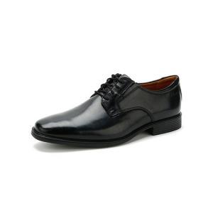 25日0点前1h立减100:CLARKS其乐男鞋新款正装英伦商务皮鞋德比鞋TildenPlain446.55元包邮(需用券)