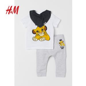 H&M男婴幼童套装 40元