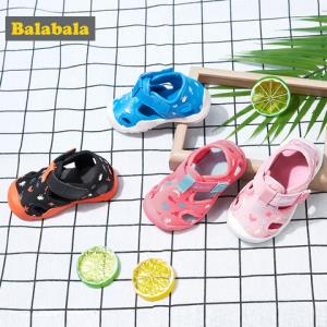 巴拉巴拉儿童凉鞋男宝宝沙滩鞋女小童鞋子2019新款夏季软底防滑潮 119.9元