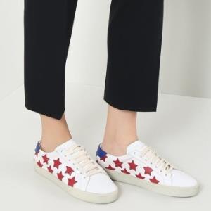 SAINTLAURENTPARIS圣罗兰女士平底休闲鞋1999元包邮