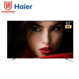 粉丝价:Haier海尔LU65F3165英寸4K液晶电视 2999元