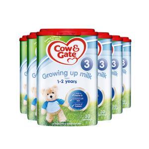 25日前2h一件95折:Cow&Gate牛栏英国牛栏三段配方婴幼儿奶粉易乐罐1-2岁800g*6罐 585.91元包邮(需用券)