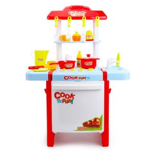 贝恩施儿童过家家玩具做饭仿真厨房玩具宝宝厨具套装男女孩3-6岁 59元
