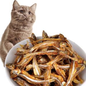 憨憨乐园小鱼干猫零食天然健康无盐鱼干成幼猫补钙零食全阶段猫咪零食40g 14.32元