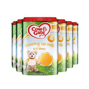 25日前2h一件95折:Cow&Gate牛栏英国CowGate牛栏进口婴幼儿奶粉4段800g2岁以上*6罐 585.91元包邮(需用券)
