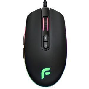 迪摩(DEARMO)F17电竞游戏有线鼠鼠标6000DPI可宏定义RGB炫彩鼠标黑色 99元